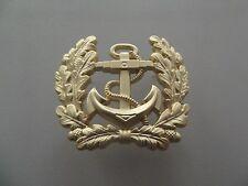 A12-AD15 Barett Abzeichen Schirmmütze Marine