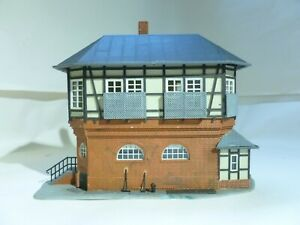 HO 00 OO gauge signalbox signal box with removable roof Kibri