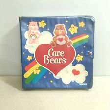 Vintage Care Bears Display Case Collection Carrying Mini Figures Pvc
