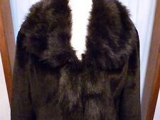 Centigrade cappotto di pelliccia finta di piccole dimensioni