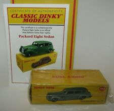 Atlas Dinky Replica Nº 39 A Packard Eight Sedan Scellé & COA