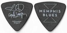 Cyndi Lauper white/black tour guitar pick