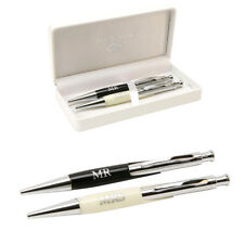 Mr + Mrs Pens Guest Book Register Wedding Anniversary Gifts Two Keepsake Present