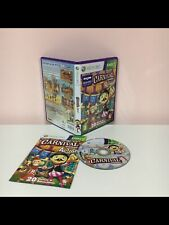 Carnival Games in Aktion Xbox 360 Party Videospiel HANDBUCH PAL