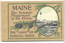 Maine Souvenir Picture book - 1920s?