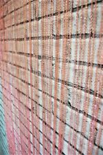Curtain Baby Pink Glass beaded style curtain panel