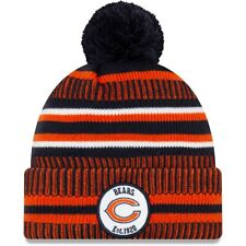 New Era NFL Sideline 2019 Chicago Bears Navy Home Official Sport Knit Beanie