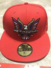 New Era Dipset Diplomats Red Fitted Hat 5950 Size 7 1/2 Supreme Limited Yeezy