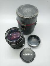SMC Pentax SLR K-mount 120mm f2.8, Caps, Case, Free Shipping