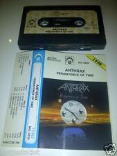 ANTHRAX – Persistence of Time MC tape RARE POLISH PRESS 1990