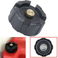 Marine Tank Gas Cap ABS Plastic Black Boat Fuel Outboard Engine Durable