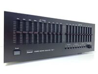 SANSUI SE-7 Stereo Graphic Equalizer Vintage 1979 High End Working 100% Like New