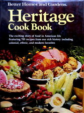 Vintage Cookbook BH&G HERITAGE COOK BOOK 705 American Recipes & History 1976