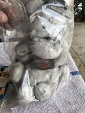 Vtg '93 Harley Davidson Bulldog Mascot Play By Play Plush - Tag Attached