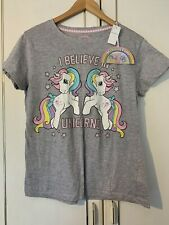 BNWT Primark My Little Pony I Believe In Unicorns Size Medium 10/12 PJ Top