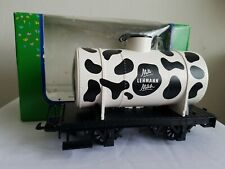 LGB Lehmann Toy Train 94380 MilK Single Dome Tank Car G-Scale