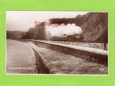 Teignmouth Sea wall Railway unused RP pc Photochrom Ref C898