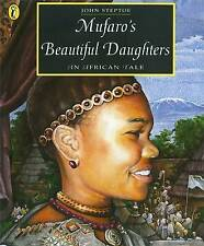 Mufaro's Beautiful Daughters: An African Tale (Picture Puffin)-ExLibrary