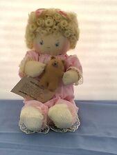 Vintage 1991 Jan shackelford Original Wee Babykin Soft Doll Mint With Tag Rare