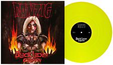 DANZIG - BLACK LADEN CROWN - YELLOW VINYL -  LP record