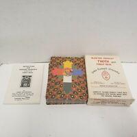 Vintage 1978 Aleister Crowley Thoth Tarot 78 Card Deck Belgium No Black Card