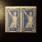 JEUX OLYMPIQUES DE PARIS 1924 PAIRE DE N°186 NEUF ** LUXE MNH COTE 230€