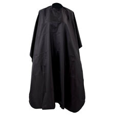 Black Waterproof Salon Hair Cut Hairdressing Hairdresser Barber Cape Cover New