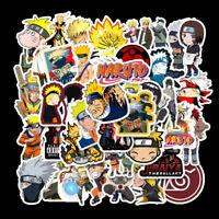 50Pcs Anime Uzumaki Stickers for Laptop Guitar Luggage Skateboard Graffiti Decal