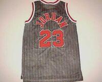 1984 Chicago Bulls Michael Jordan #23 NBA Nike Flight 8403 Black Red Jersey 54