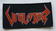 """Violator """"Logo"""" Woven Patch - chemical assault scenarios of brutality"""