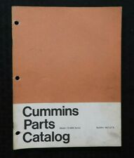GENUINE CUMMINS MODEL CS-464 SERIES DIESEL ENGINE PARTS MANUAL CATALOG VERY GOOD