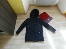 manteau fille  IKKS 12 ans en BE + snood IKKS NEUF