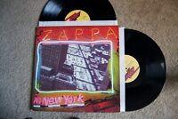 Zappa In New York Psychedelic Rock Discreet 2 Records lp original vinyl albums
