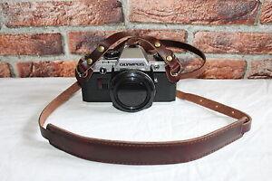Vintage Echt Leder Alte Kamera Tragegurt Trageriemen Leather Camera Strap