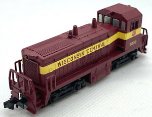 N Scale Con Cor Wisconsin Central SW-1200 Powered Cow #1230. LN/Used?