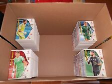 Panini Adrenalyn XL World Cup 2018 complete set of 360 Team Mates & 40 Fans Favs