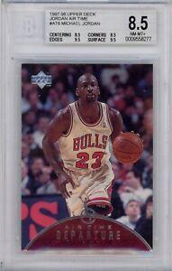 1997/98 Upper Deck Jordan Air Time #AT8 Michael Jordan GRADED BGS 8.5 Beckett