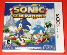 Sonic Generations Nintendo 3DS *New! *Factory Sealed! *Free Shipping!