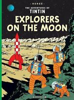 Tintin: Explorers on the Moon by Herge, NEW Book, FREE & Fast Delivery, (Paperba