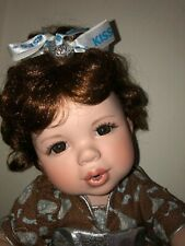 """Marie Osmond """"Hershey Kisses"""" Toddler Sized 12 inch Doll - Vguc"""