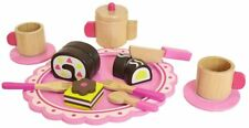 Tooky Wooden ToyChildrens Afternoon Tea Pretend Play Food Playset & Accessories