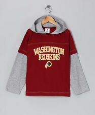 Washington Redskins Boy's Layered Hoodie (size XL or 14/16) NWT