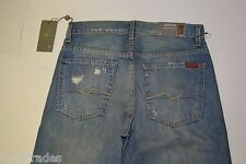Seven 7 for All Mankind Men's Blue Jeans 29/34 Relaxed Straight Leg *NEW TAGS*