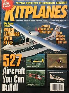 Kit planes  Dec 1996, 527 Aircraft You Can Build