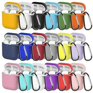 Soft Skin Case For Apple Airpods Silicone TPU 1 2 Earphones Charger Cover Slim