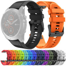 Quick Easy Fit Silicone Sports Watch Band Wristband for Garmin Fenix 5X Plus US