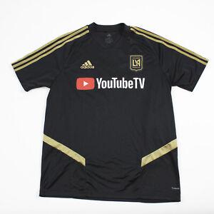 LA FC adidas Climacool Game Jersey - Soccer Men's Black Used