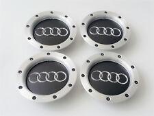 4x Neu Audi 146mm Alu Mittel Radabdeckungen Radlager Kennzeichen Felgen