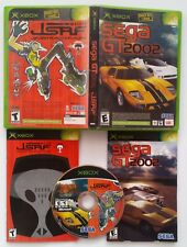 LIMITED EDITION MICROSOFT XBOX VIDEO GAME SEGA GT 2002 JET SET RADIO FUTURE JSRF