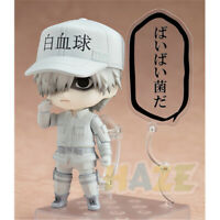 """Anime Nendoroid 979 Cells at Work! White Blood Cell Action Figure Model Toy 4"""""""